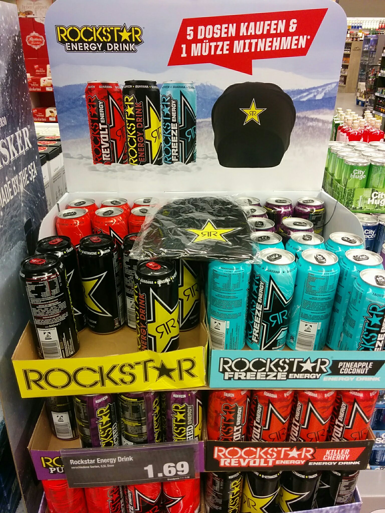 Groß Rockstar Energy Kühlschrank Ideen - Die Besten Wohnideen ...
