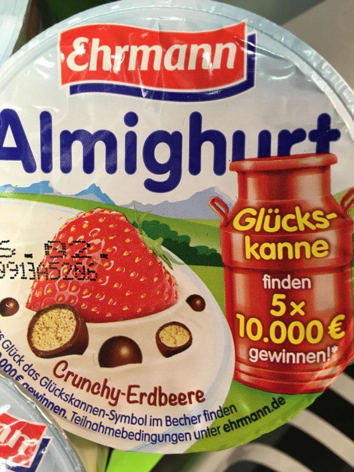 Ehrmann almighurt verlost euro hamsterrausch for Boden aktionscode
