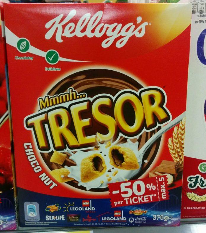 Kelloggs Tresor