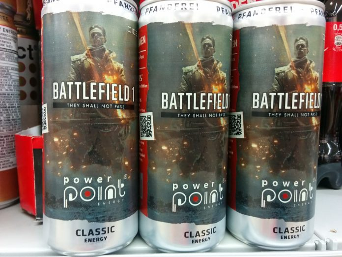 Power Point Energydrink - Battlefield 1 Limited Edition