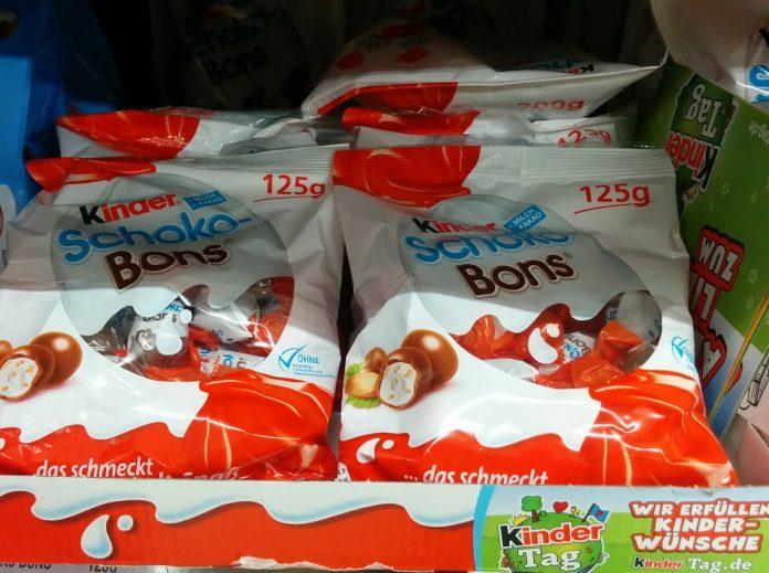 Ferrero Weltkindertag - Kinder Schokobons