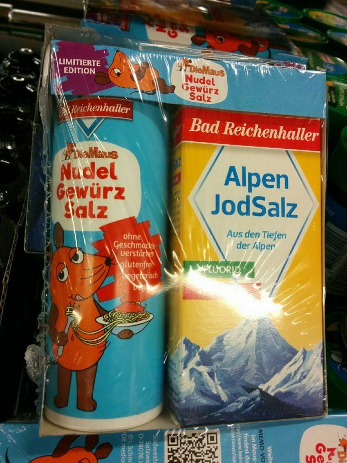 Bad Reichenhaller AlpenJodSalz und