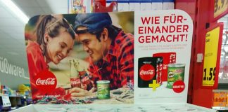 Coca Cola plus Pringles