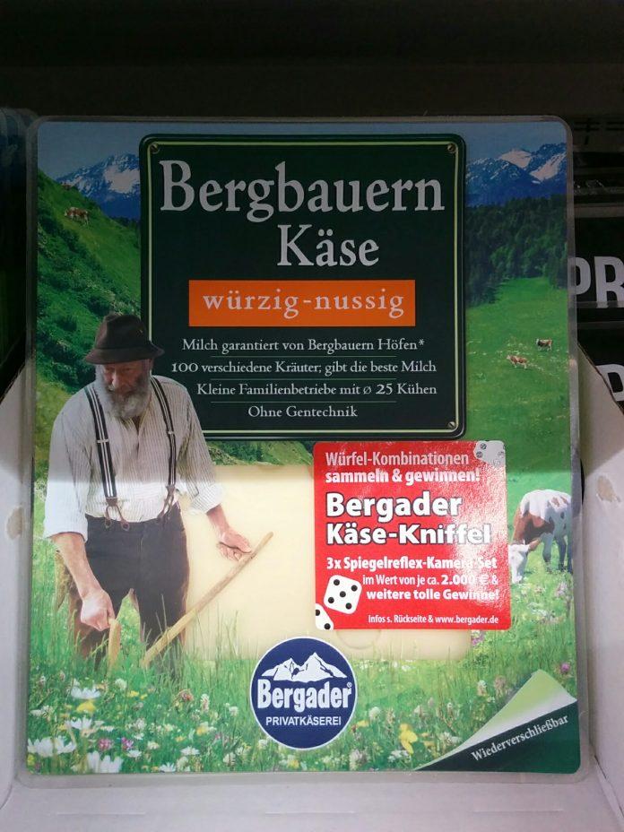 Bergader Bergbauern Käse - Käse Kniffel