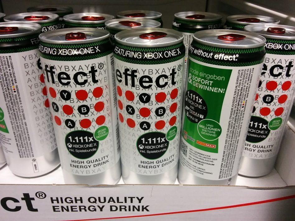 Mini Kühlschrank Effect : Effect energy drink verlost xbox one spiele tv geräte technik