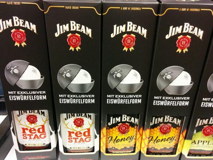 Jim Beam Eiswürfelform