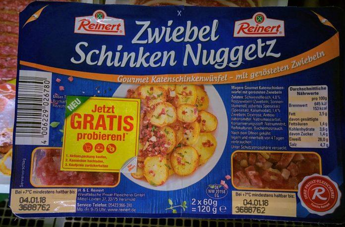 Reinert Zwiebel Schinken Nuggetz