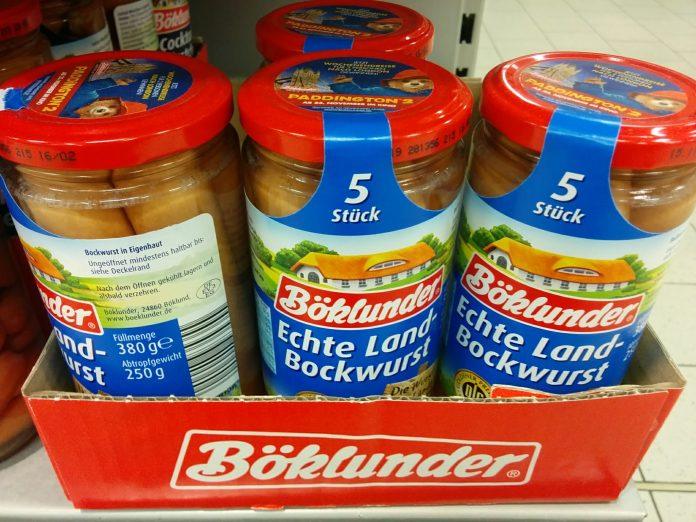 Böklunder Wurst -