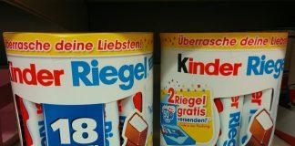Kinder Riegel - Süße Grüße