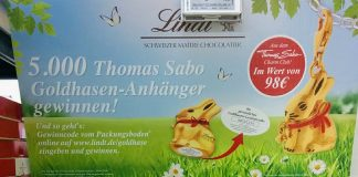 Lindt Goldhase Thomas Sabo