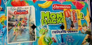 Ehrmann Monster Backe - Sherlock Gnomes
