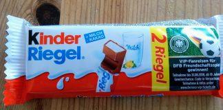 Ferrero Kinder Riegel - DFB-Freundschaftsspiel
