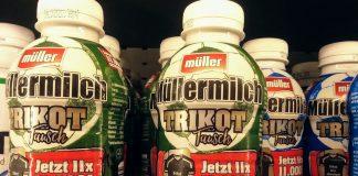 Müllermilch - Trikottausch