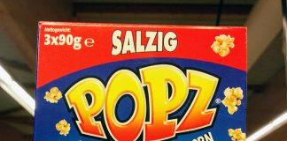 Popz Mikrowellen-Popcorn