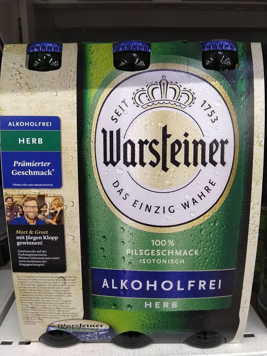 Warsteiner Alkoholfrei Verlost Meet Greet Mit Jürgen Klopp
