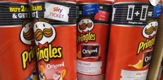 Pringles Sky Ticket Supersport Cinema