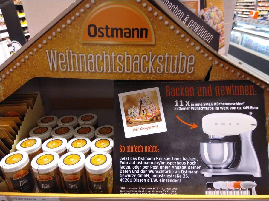 ostmann verlost smeg k chenmaschine in wunschfarbe hamsterrausch. Black Bedroom Furniture Sets. Home Design Ideas