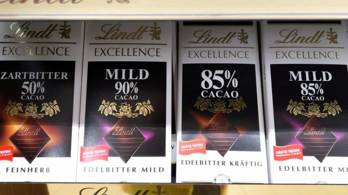 Lindt Excellence Schokolade Kakao