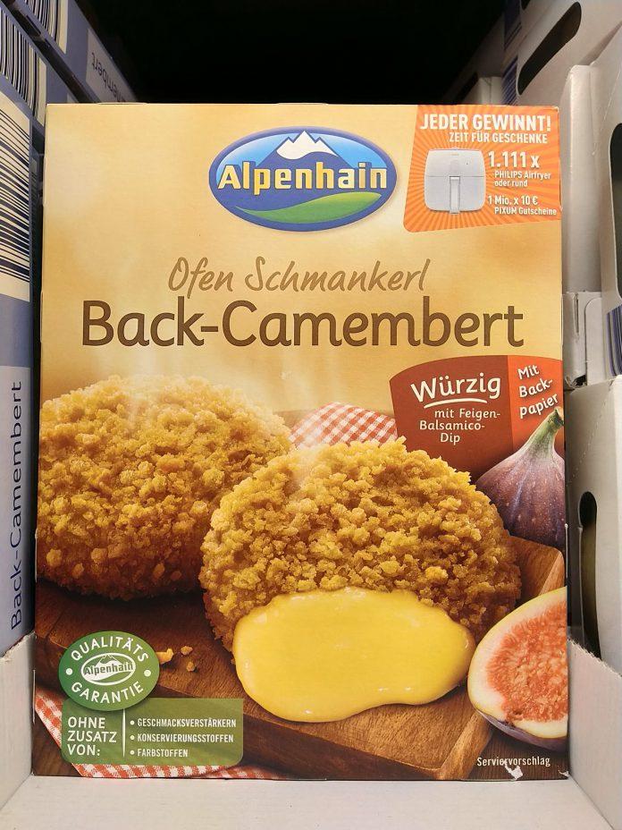 Alpenhain Back-Camembert Ofen-Schmankerl