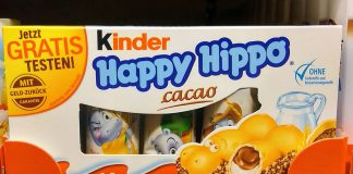 Ferrero Kinder Happy Hippo Cacao