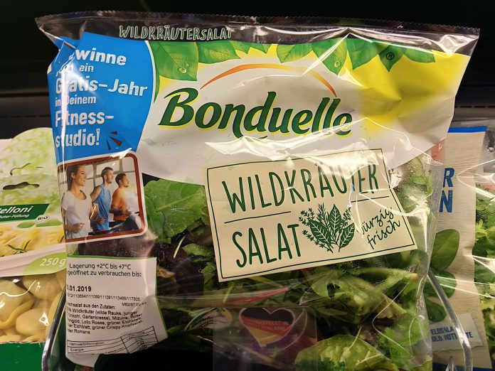 Bonduelle wildkräutersalat