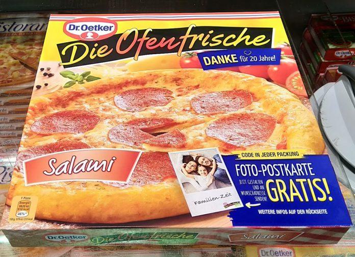 Dr. Oetker Die Ofenfrische Pizza