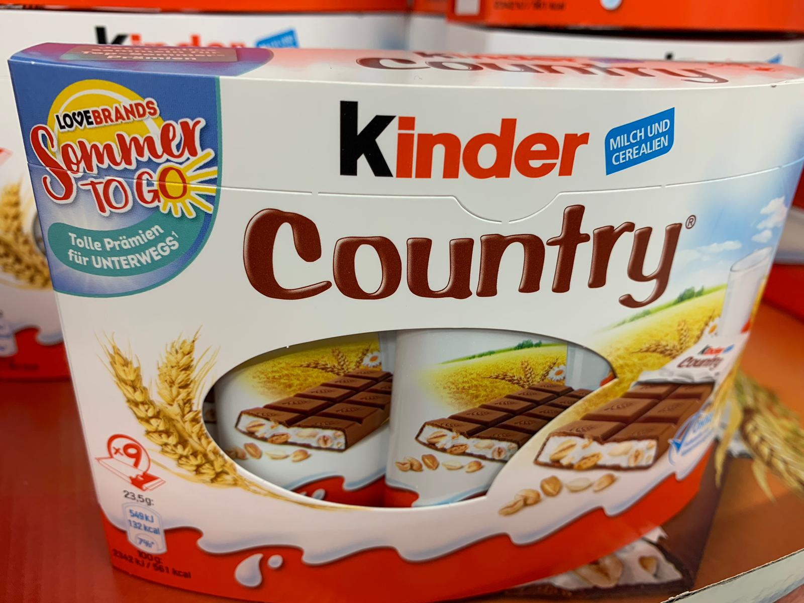Kinder Sommer To Go