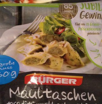 Bürger Maultaschen Erwin