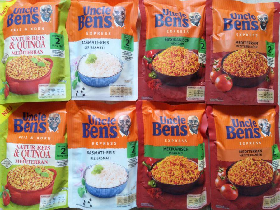 Uncle Bens Express Reis Zubereitung