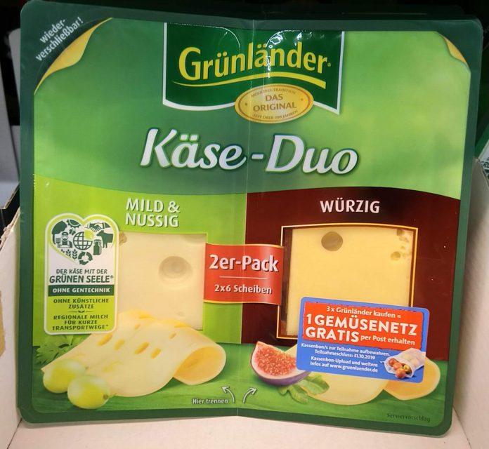 Grünländer Käse - Gemüsenetz