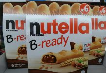 Ferrero Nutella B-ready Pocketspiel