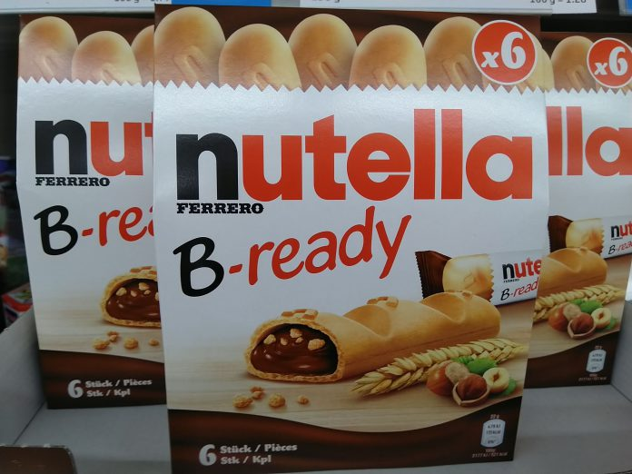Ferrero Nutella B-ready Pocketspiel