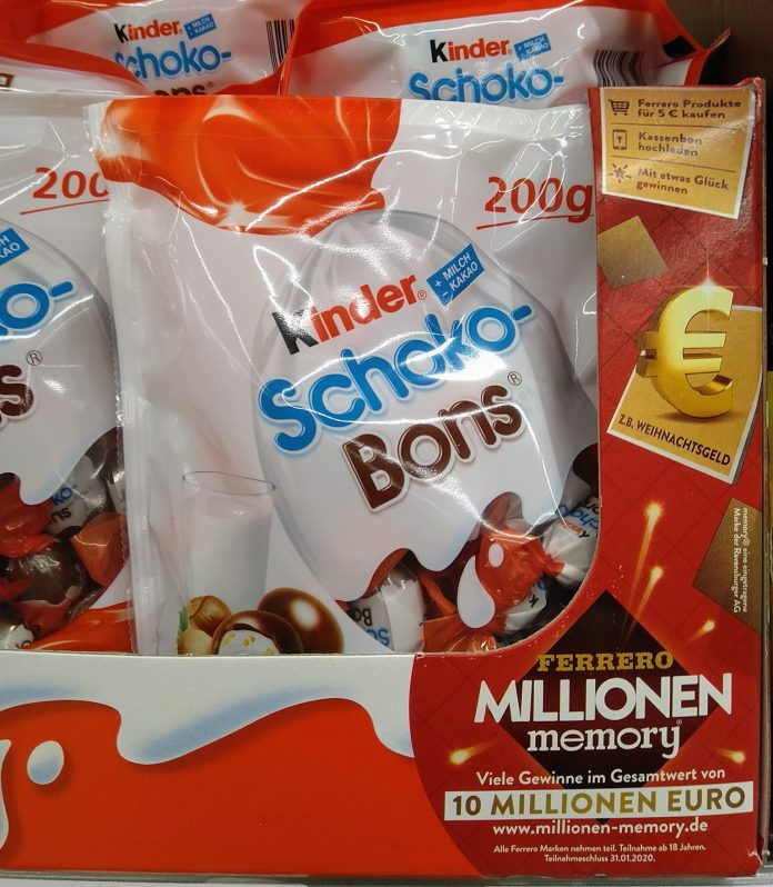 Ferrero Millionen Memory 2020