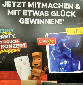 Penny goes Party - Joris Couch-Konzert unplugged