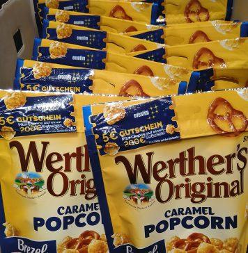 Werthers Original Caramel Popcorn - Eventim Gutschein
