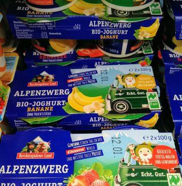 Molkerei Berchtesgadener Land - Carrera Milchwagen