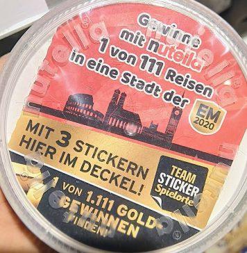 Nutella - Reise in Stadt der EM 2020