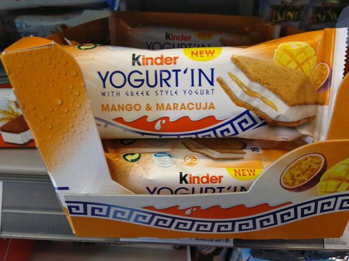 Ferrero kinder YOGURT'IN