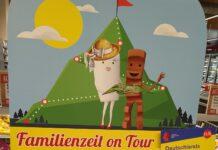 Rewe Ferrero Falk Familienzeit on tour