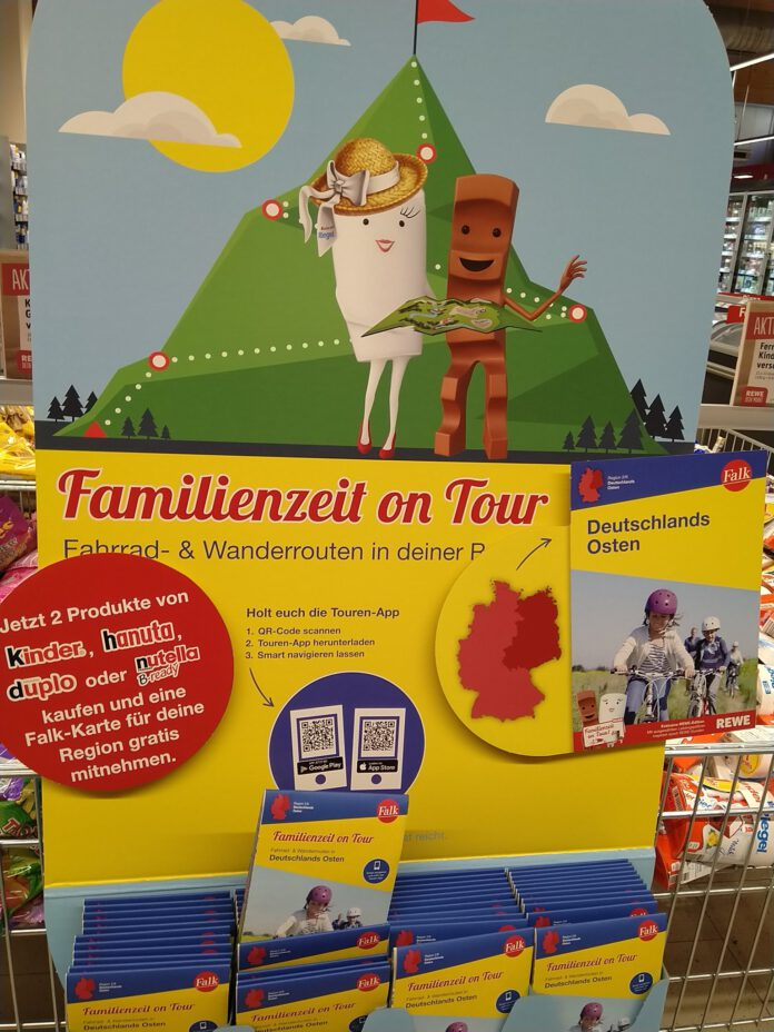 Rewe Ferrero Falk Familienzeit on tour