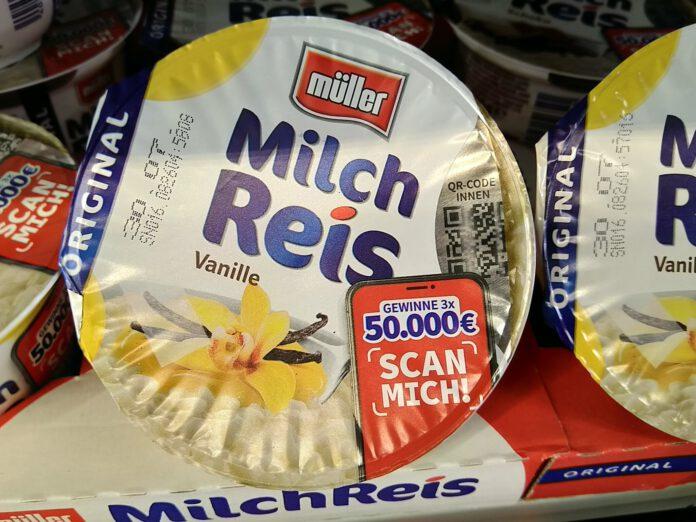 Müller Milchreis Scannen