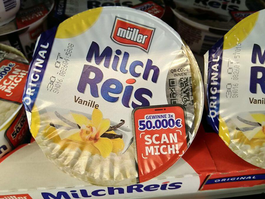 MГјller Milchreis Scannen