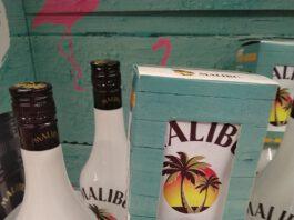 Malibu Rum - Mini-Beachbag gratis