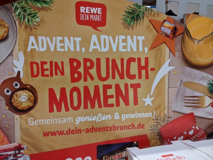 Rewe und Ferrero Brunchmoment: Adventsbrunch gewinnen - Brunchboxen
