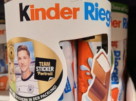 Ferrero: DFB Teamsticker Sammelaktion 2021 startet Ende April 2021